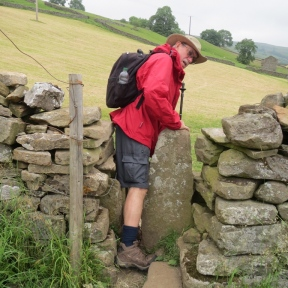 The stile passageways are becoming ever tighter!